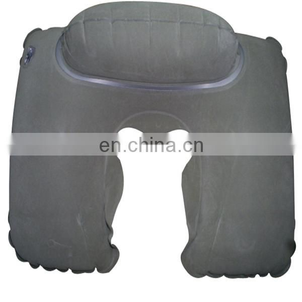Inflatable Travel Pillow with Cloth Cover