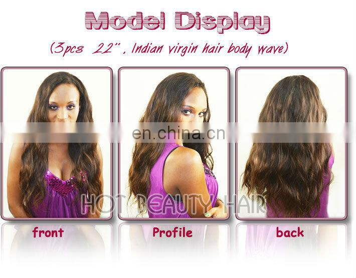 Wet and Wavy Indian Remy Hair Weave