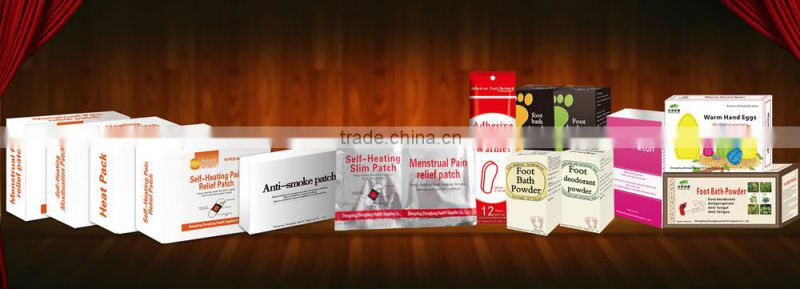 100% natrual Chinese herbal medicine Detox foot patch better sleep lost weight remove heavy metals from body
