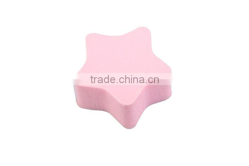 Non Buffed latex sponge NR sponge with Star shape