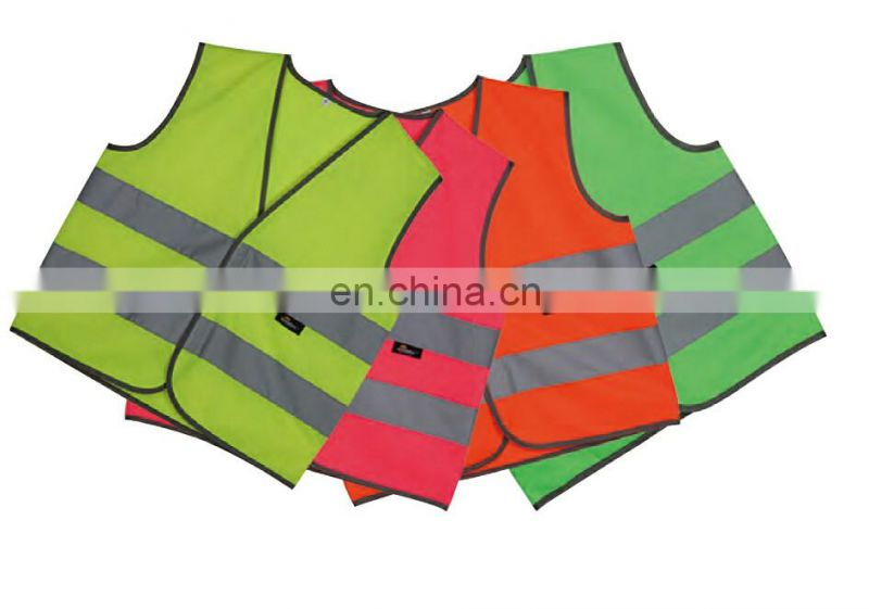 Label protective reflective safety vest