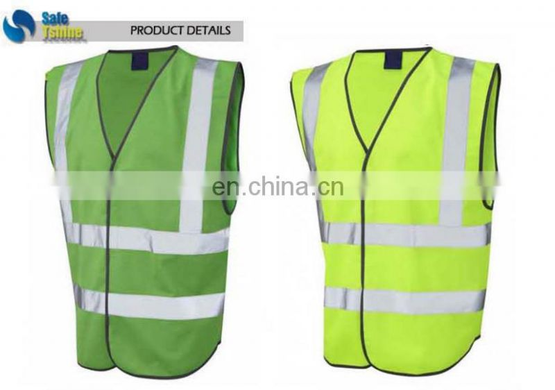 reflective hot selling cheap volunteer reflective safety vest