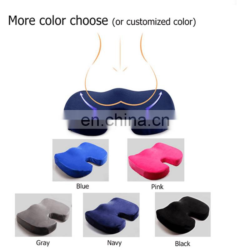 Custom Design Cooling Memory Foam Car Drivers Seat Cushion high quality for sale