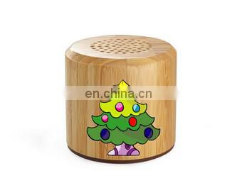 Wooden bluetooth speaker uv printer