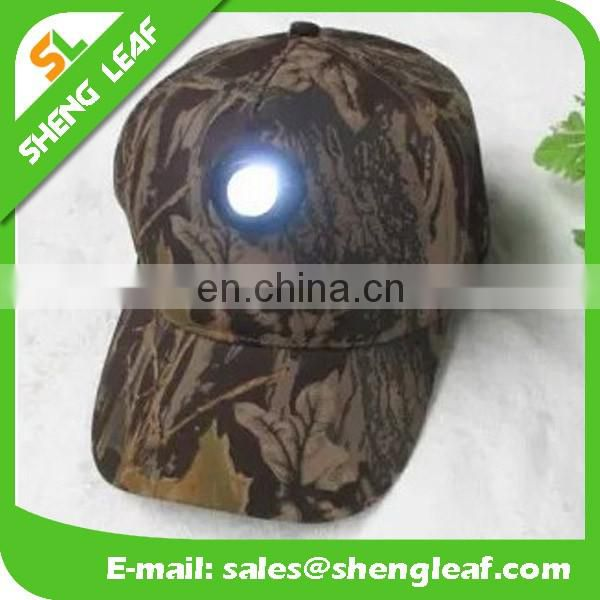2016 hot sale of led light cap cusmize printing or emberidery logo