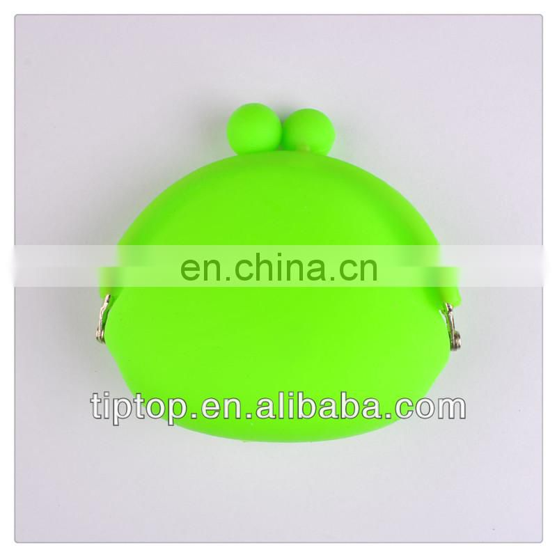 promotional gift mini silicone coin bag