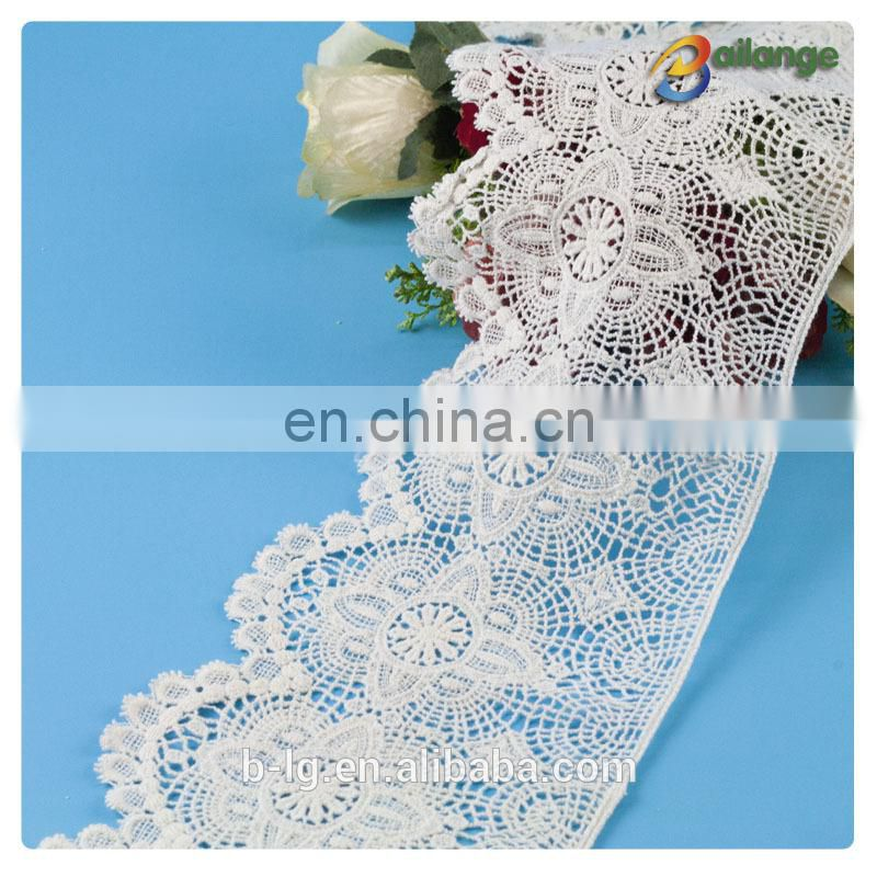 Colorful lace fabric for cloth Guangzhou fashion cotton african lace fabrics for dress