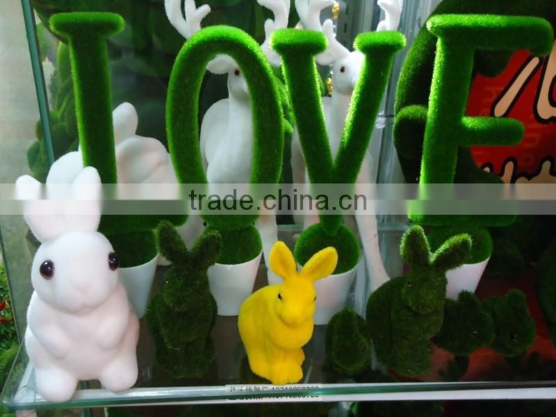 Eco Friendly /Wholesale fake grass animals artificial grass topiary