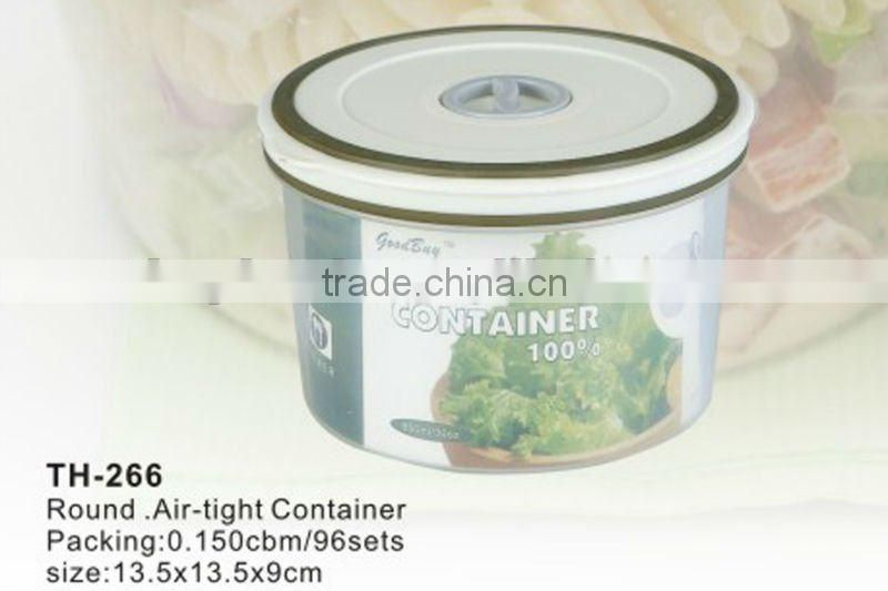 promotion high quality plastic airtight food container(TH266)