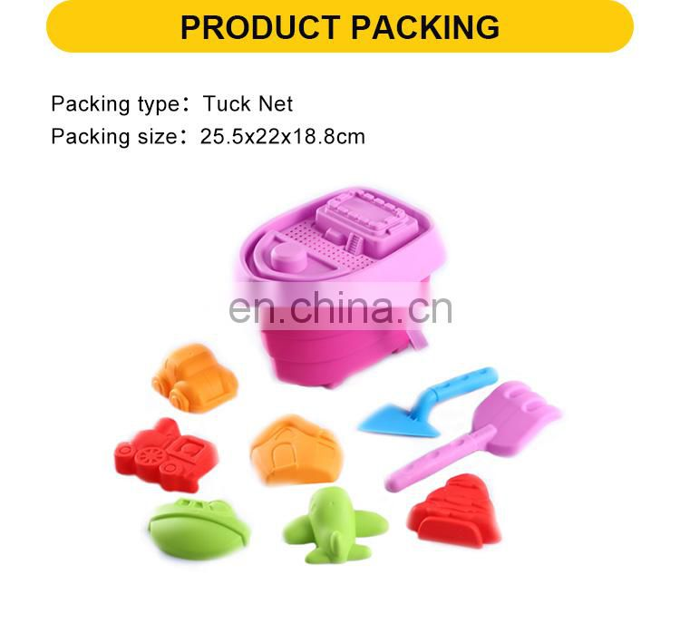 Beach toys set plastic sand play toy 9 pcs