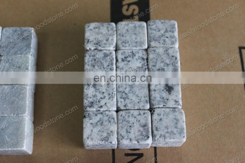 Dark Grey Granite Ice Cube Stone / Whisky Stone/ Ice Cool Cube Stone