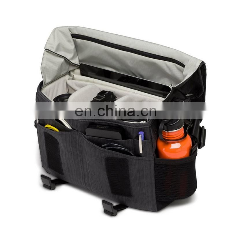 china factory product messenger camera and laptop bag