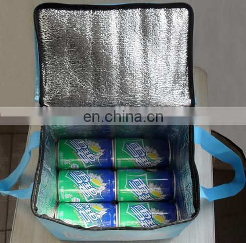 laminated and printed non woven big cooler bag