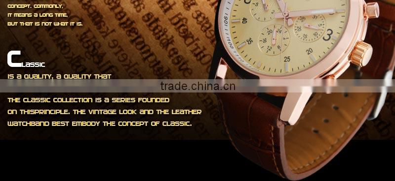 2014 New Watch Men Custom Made Watches High Quality Watch Manufacturer