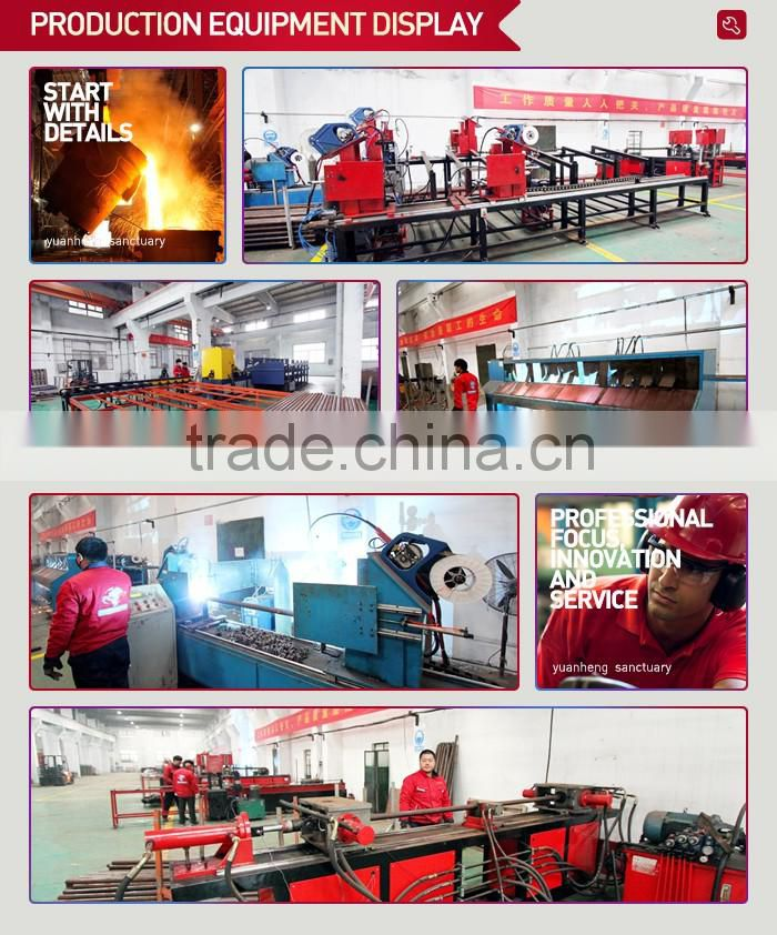 Custom welding fabrication gantry structure steel construction