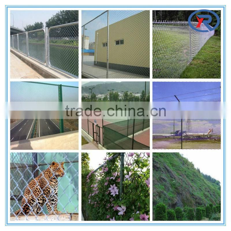 Alibaba china - hot dip galvanized perimeter security used chain link fence for sale