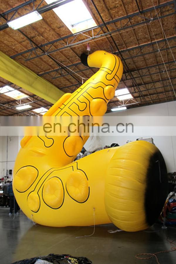 inflatable saxaphone for outdoor decoration