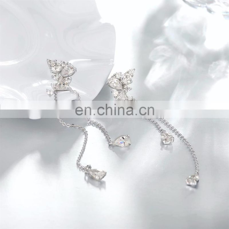 New Designs Platinum Plated Pendent Earrings High Quality Brincos for Women