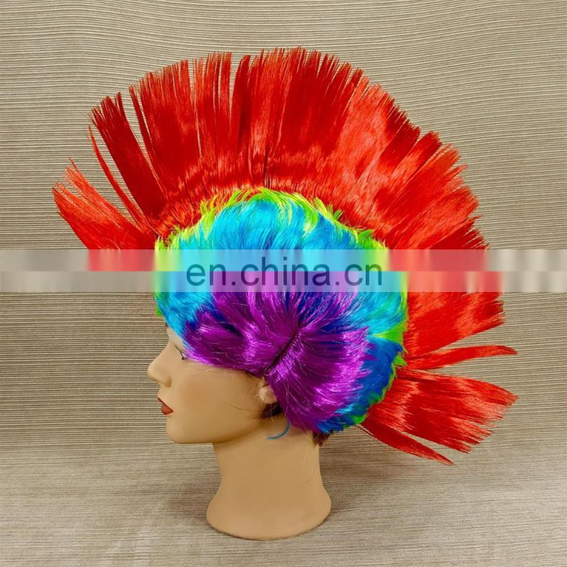 promotional spirit hawk wig of spike mohawk wig