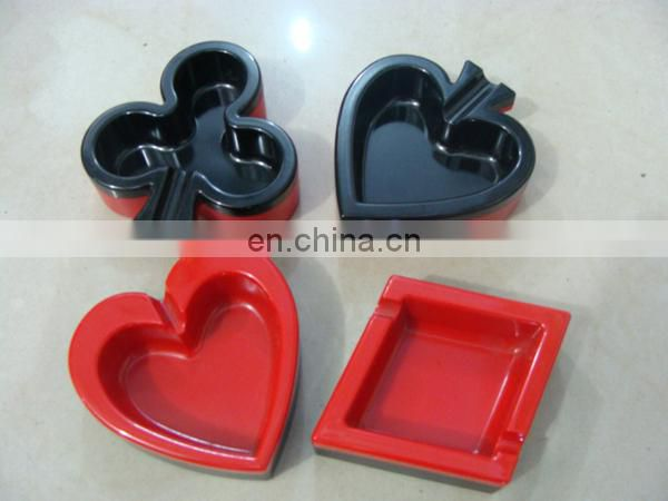 limousine shaped pocket plastic ashtray,car ashtray