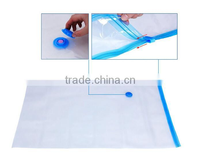 Widely used vacuum sealing plastic bag package clothes Vacuum compressed bag for all kinds of vacuum