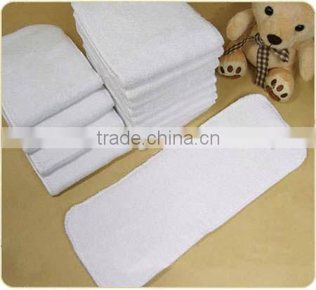 Best Deal 3 Layer Microfiber Nappies Inserts Machine Washable For Baby Cloth Diapers Inserts