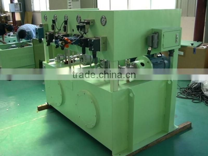 Welding equipment hydraulic station