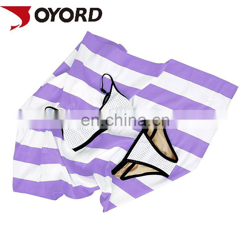 China Supplier Wholesaler Custom made Printed your own Beach Towel