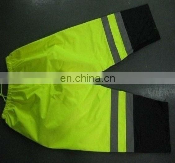 High visibility reflective safety pant