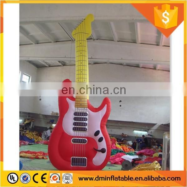Custom advertising giant inflatable guitar for saleC-401
