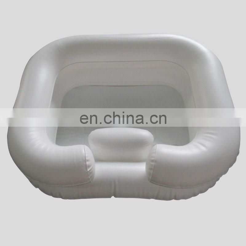 Custom Plastic Inflatable Hair Shampoo Tray