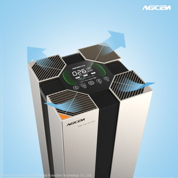 Agcen Hepa air purifier air cleaner with sensors T02 Image