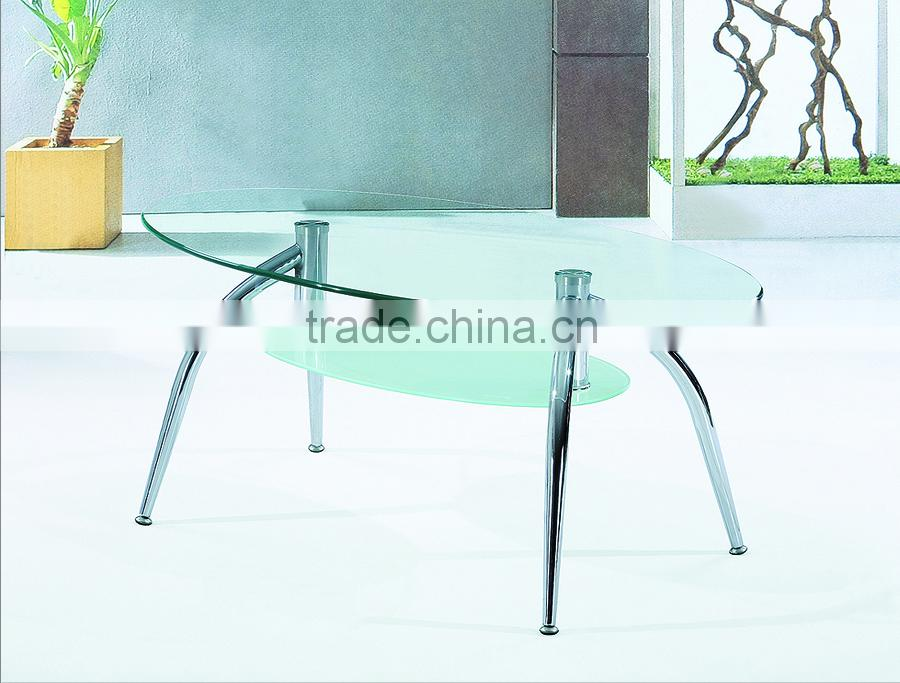 2015Modern Metal Glass Coffee Table with Cheap price PCT14150