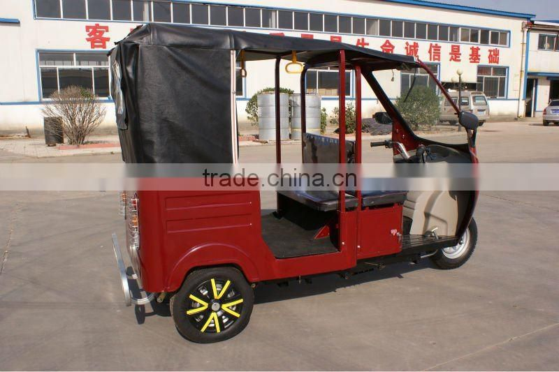 2016 hot Diesel Tricycle new design for passenger shaft drive aire cooled with high quality