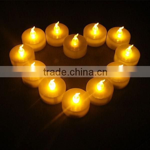 Best choice New 12 LED Rechargeable light Flameless tea Light decorative Candle For Party Wedding Xmas Image