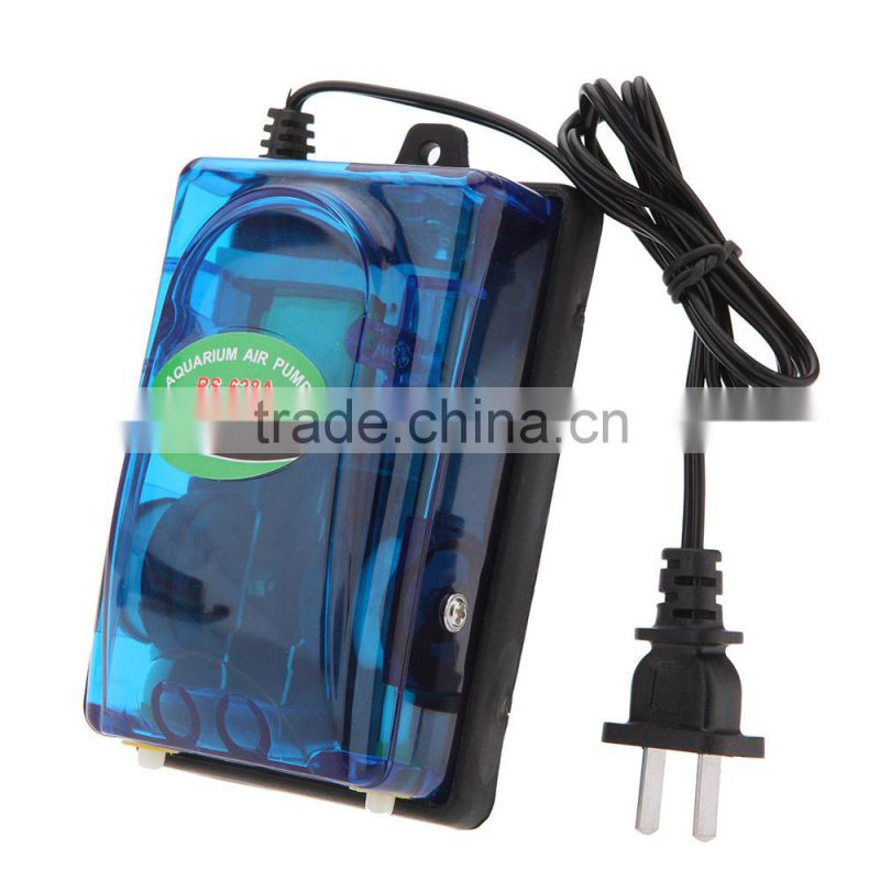 New 5W Outlet Air Pump Aquarium Fish Tank Pump RS-628A