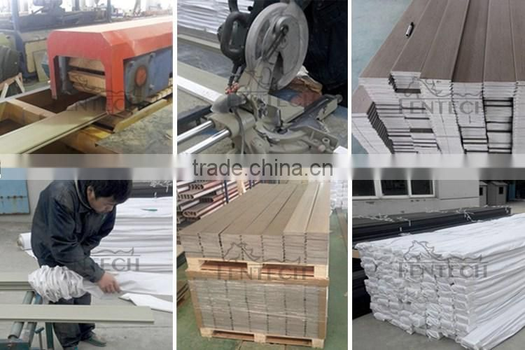 Waterproof Skidproof Plactic Composite Decking
