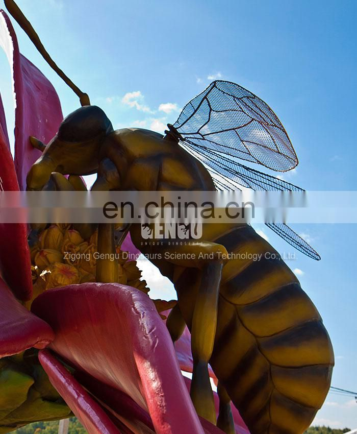 Garden Decoration Simulation Insect Fly Model