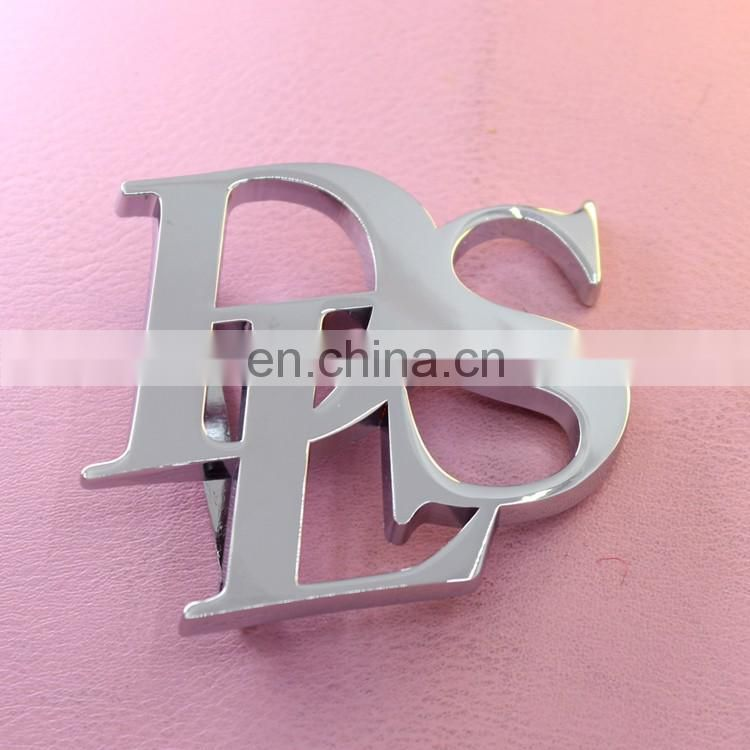 Customized Lady Gold Plated belt buckle