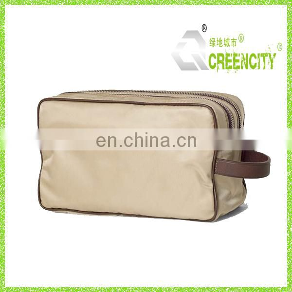 Two Compartment Men's Toiletry & Cosmetic Bag