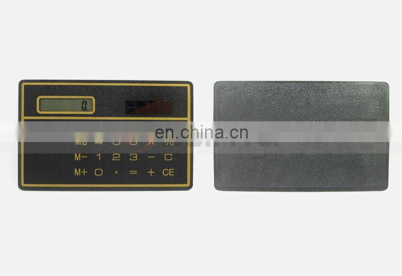 Ultra Thin Emergency Slim Card Calculator