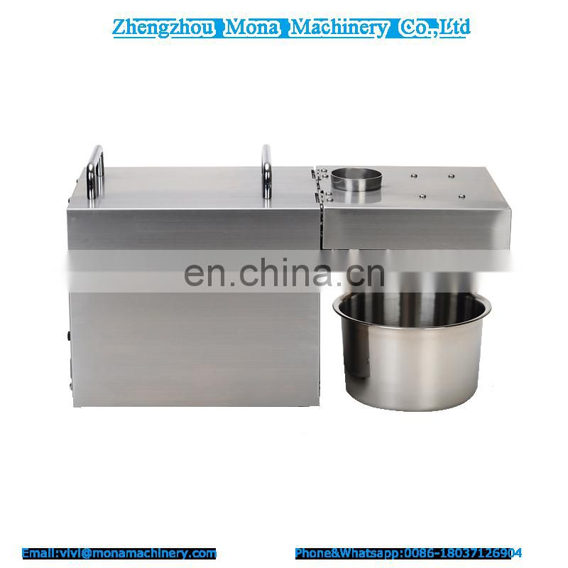 hot sale oil presser machine/vegetable oil extraction machine/ mini oil presser