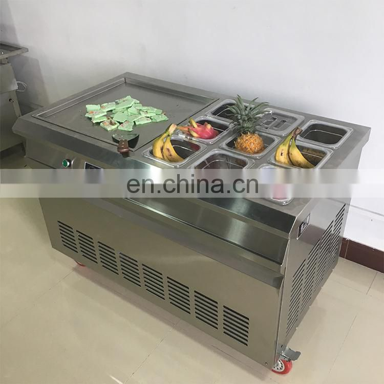 Commercial Thai Fry Ice Cream Roll Maker Image