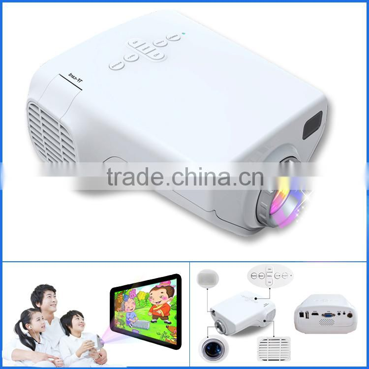 High Quality Cheap Mini Pocket Projector Digital Video Projectors Multimedia Player Home Theater With HDMI