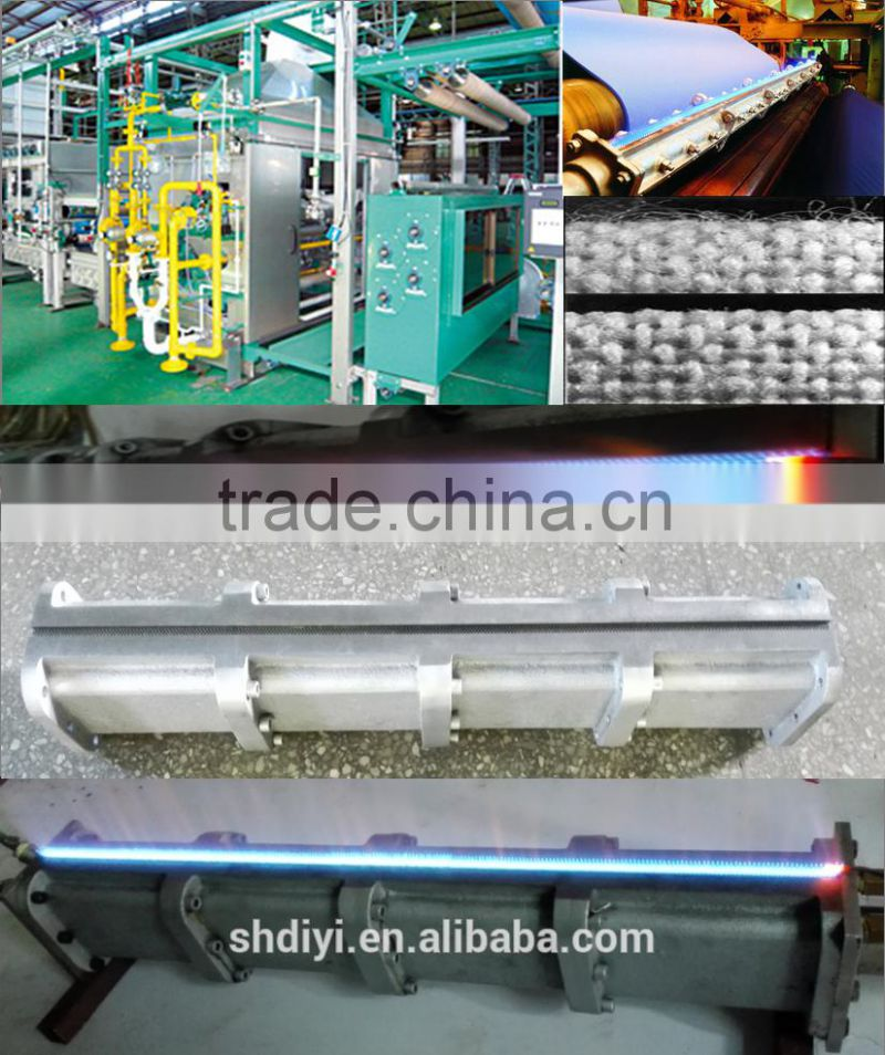Burner System for Singeing Machine