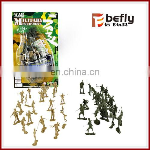 Hot selling army playset military toys plastic soldiers