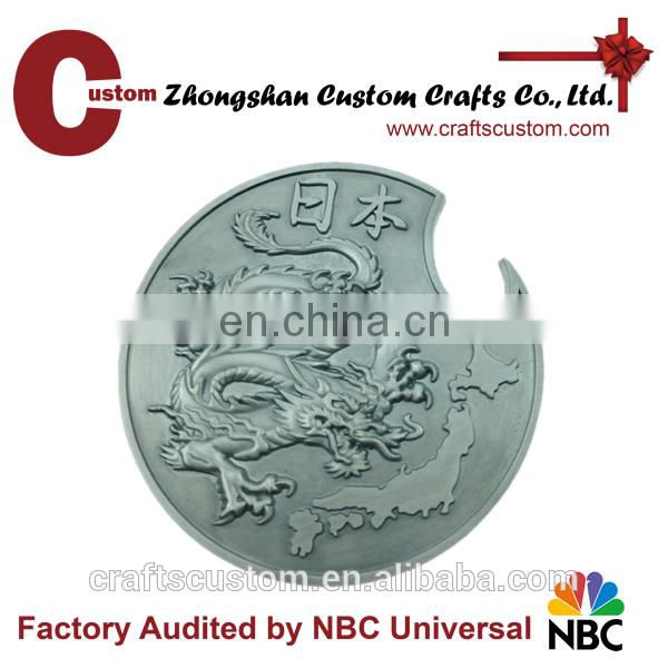 Custom engraved silver coin/copies of coins for sale