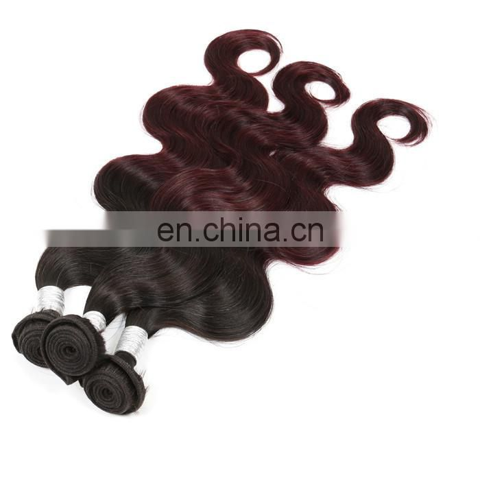 3bundles wholesale red brazilian hair weave bundles raw body wave remy hair extensions weft double drawn for black women