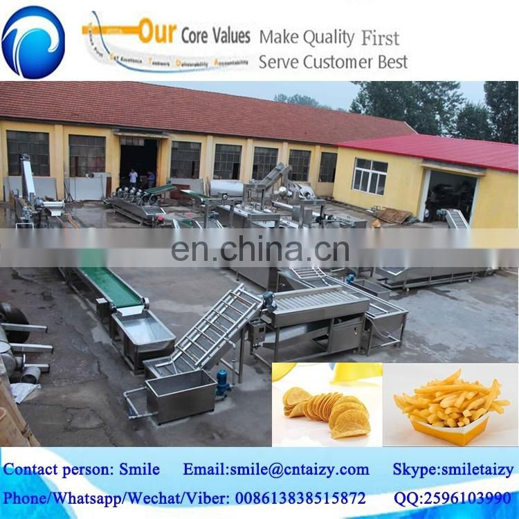 professional manufacturing company for potato chips production line with best quality