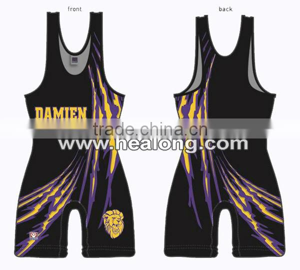 Sumo Custom Made Breathable Wrestling Suit Singlet